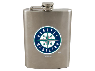 Seattle Mariners 8oz Stainless Steel Flask