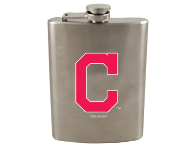 Cleveland Indians 8oz Stainless Steel Flask