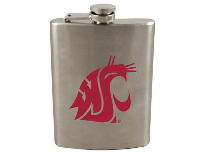 Washington State Cougars 8oz Stainless Steel Flask