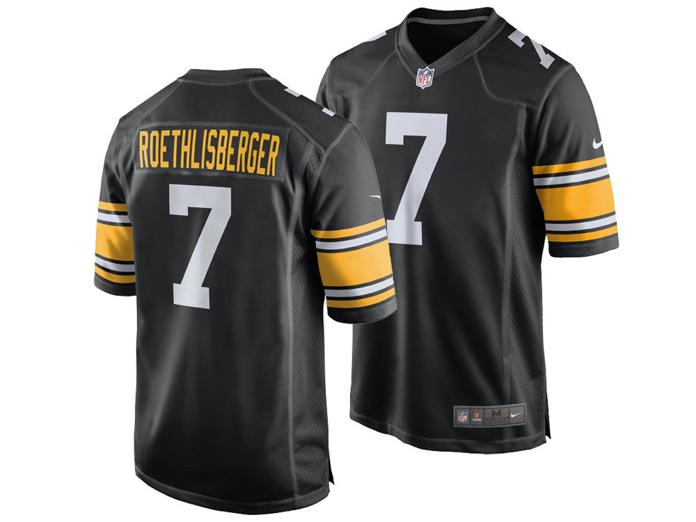 Pittsburgh Steelers Ben Roethlisberger Nike NFL Men s Game Jersey ... 7e3354215