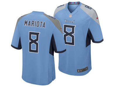 Tennessee Titans Marcus Mariota Nike NFL Men's Game Jersey