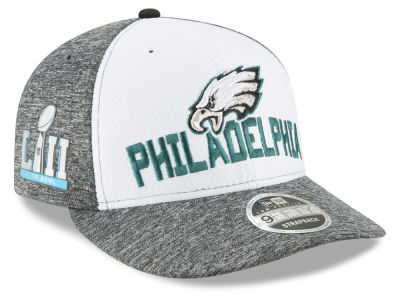 Philadelphia Eagles New Era NFL Super Bowl LII Opening Night Low Profile 9FIFTY Snapback Cap