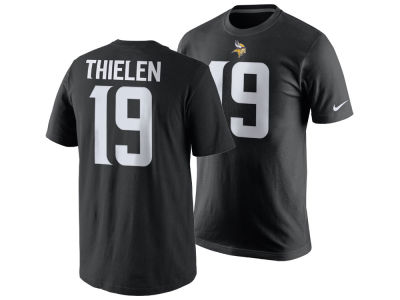 Minnesota Vikings Adam Thielen Nike NFL Men's Pride Name and Number T-Shirt
