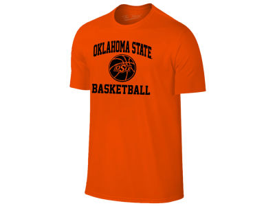 Oklahoma State Cowboys The Victory NCAA Men's Arch & Logo Basketball T-Shirt