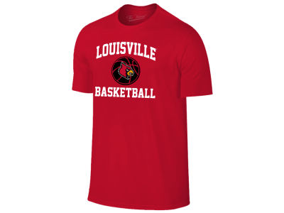 Louisville Cardinals The Victory NCAA Men's Arch & Logo Basketball T-Shirt