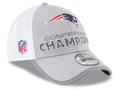 New England Patriots New Era NFL Super Bowl LII Conference Champ Locker Room 9FORTY Cap