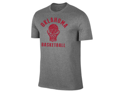 Oklahoma Sooners Retro Brand NCAA Men's Dual Blend Basketball T-Shirt
