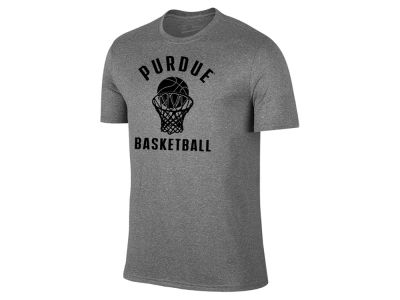 Purdue Boilermakers Retro Brand NCAA Men's Dual Blend Basketball T-Shirt