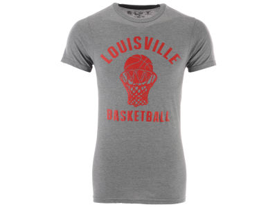 Louisville Cardinals The Victory NCAA Men's Dual Blend Basketball T-Shirt