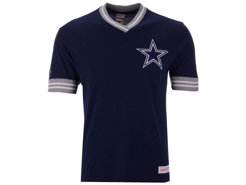 Dallas Cowboys Mitchell   Ness NFL Men s Overtime Win Vintage T-Shirt  80135847c
