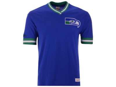 Seattle Seahawks Mitchell & Ness NFL Men's Overtime Win Vintage T-Shirt