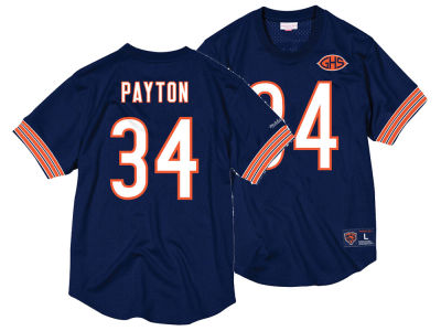 Chicago Bears Walter Payton Mitchell & Ness NFL Men's Mesh Name and Number Crewneck Jersey