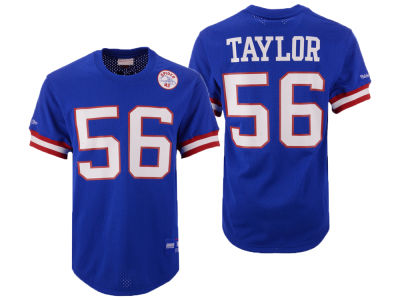 New York Giants Lawrence Taylor Mitchell   Ness NFL Men s Mesh Name and  Number Crewneck Jersey 83eca5ff5