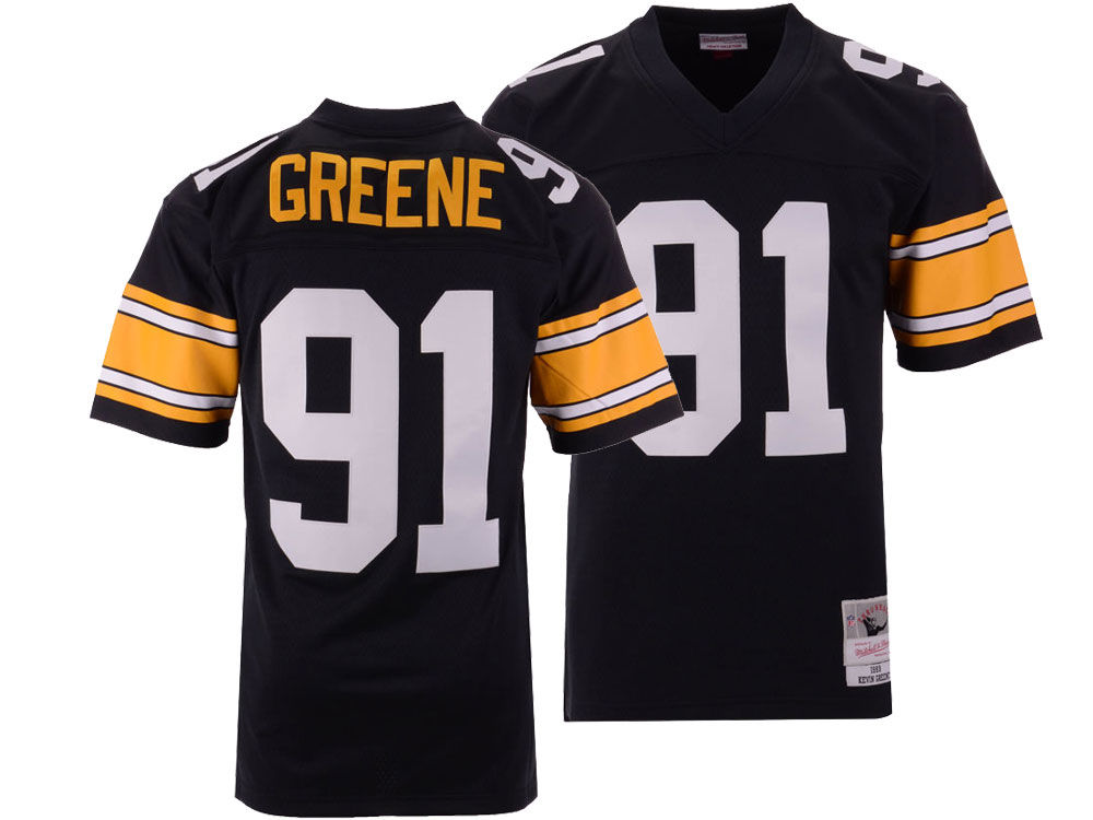 d42b9614a Pittsburgh Steelers Kevin Greene Mitchell   Ness NFL Replica ...