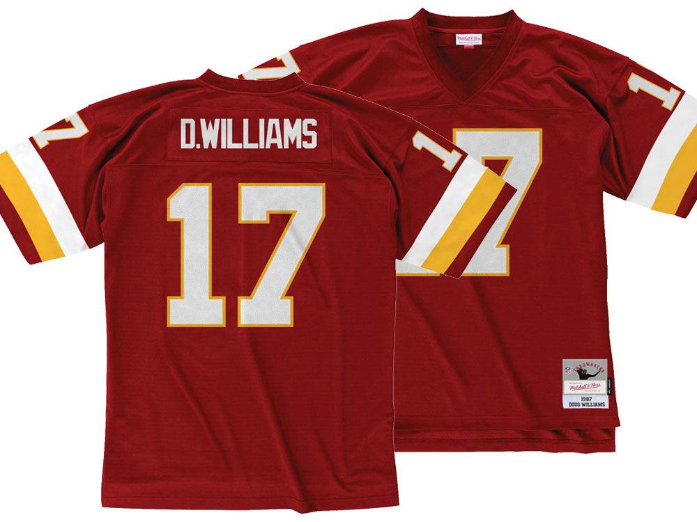 Washington Redskins Doug Williams Mitchell   Ness NFL Replica Throwback  Jersey  fbad148c0