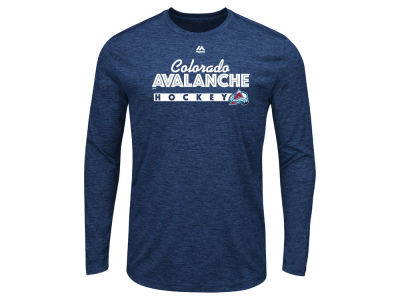 Colorado Avalanche Majestic NHL Men's Crash the Net Long Sleeve T-Shirt
