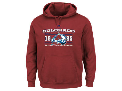 Colorado Avalanche Majestic NHL Men's Winning Boost Hoodie
