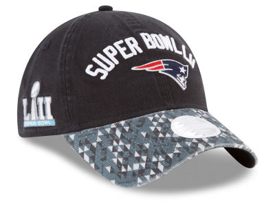 New England Patriots New Era NFL Super Bowl LII Participant Pattern 9TWENTY Cap