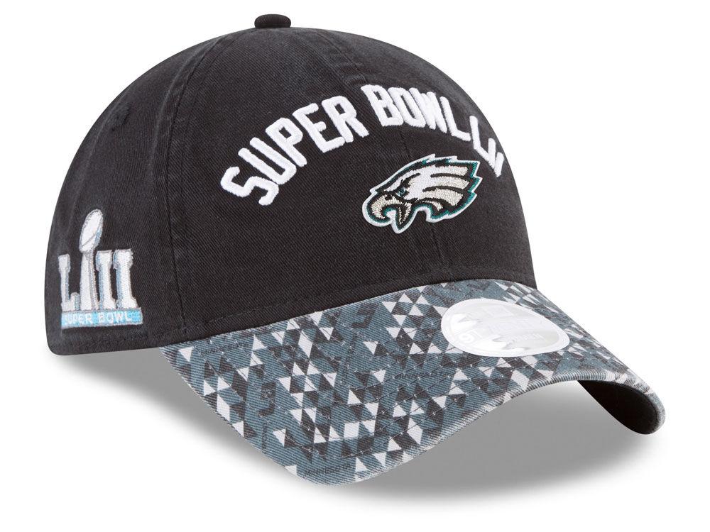 Philadelphia Eagles New Era NFL Super Bowl LII Participant Pattern 9TWENTY  Cap  ec26c78ca