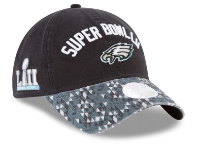 Philadelphia Eagles New Era NFL Super Bowl LII Participant Pattern 9TWENTY Cap