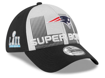 New England Patriots New Era NFL Super Bowl LII Participant 39THIRTY Cap