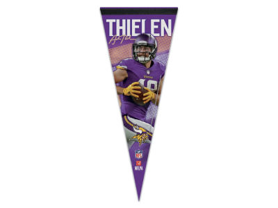 Minnesota Vikings Adam Thielen Wincraft 12x30 Premium Player Pennant