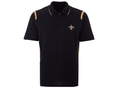 New Orleans Saints Antigua NFL Men's Merit Polo
