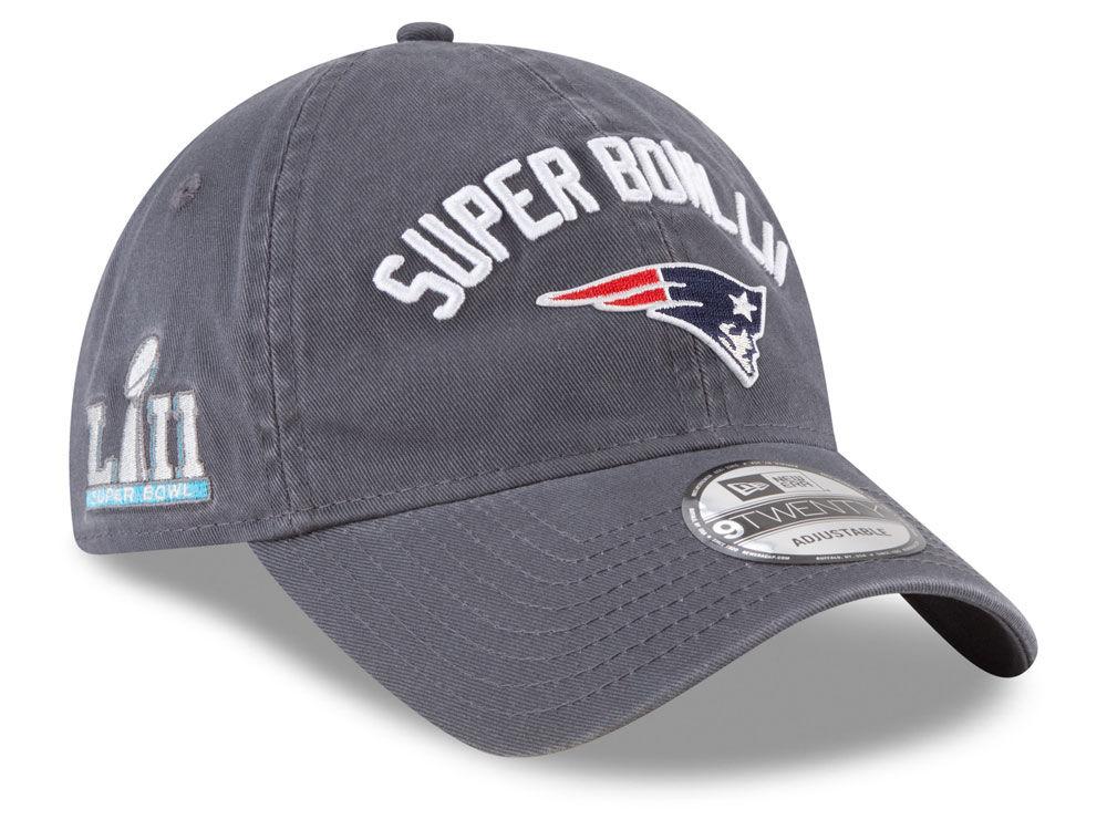 973f8060ca0 New England Patriots New Era NFL Super Bowl LII Participant 9TWENTY Cap