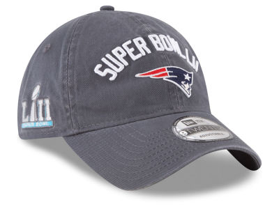 New England Patriots New Era NFL Super Bowl LII Participant 9TWENTY Cap