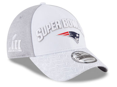 New England Patriots New Era NFL Super Bowl LII Participant 9FORTY Cap