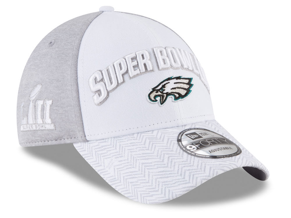 d7e8c9743 Philadelphia Eagles New Era NFL Super Bowl LII Participant 9FORTY Cap