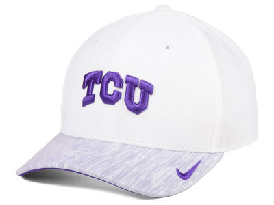 Texas Christian Horned Frogs Nike NCAA Arobill Swoosh Flex Cap