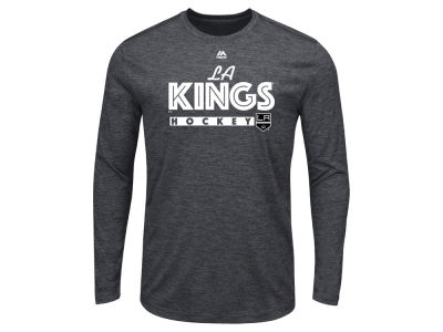 Los Angeles Kings Majestic NHL Men's Crash the Net Long Sleeve T-Shirt