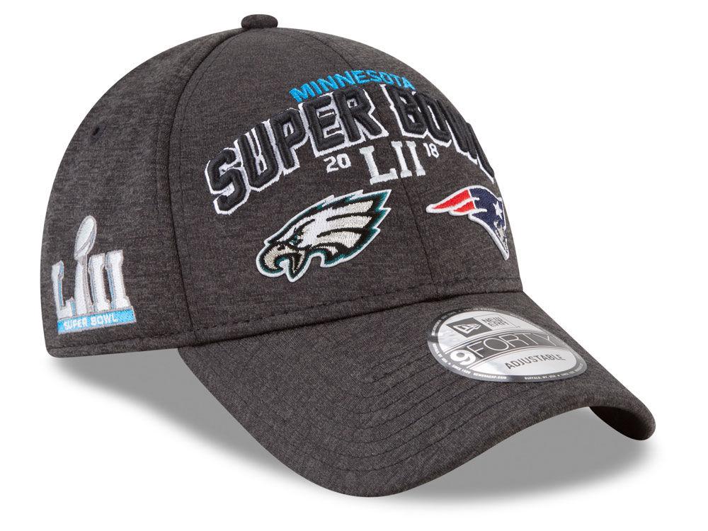 038a432eaae Super Bowl LII New Era NFL Dueling Teams 9FORTY Cap