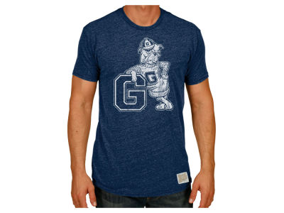 Gonzaga Bulldogs Retro Brand NCAA Men's Tri-Blend Vault Logo T-Shirt