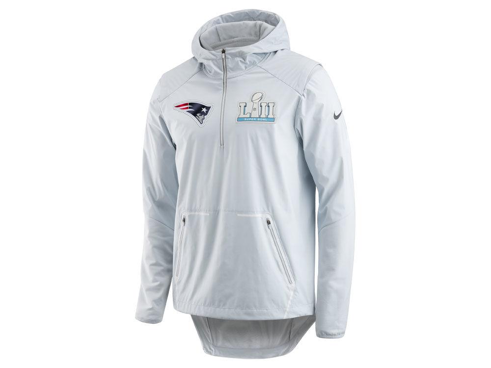 meet ec0ce 8c55f New England Patriots Nike NFL Men's Super Bowl LII Shield Alpha Jacket