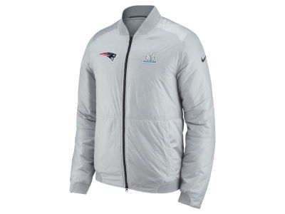 New England Patriots Nike NFL Men s Super Bowl LII Bomber Jacket 4edd6aafb