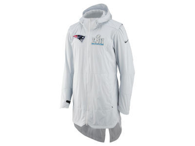 New England Patriots Nike NFL Men's Super Bowl LII Player Cape Full Zip Jacket