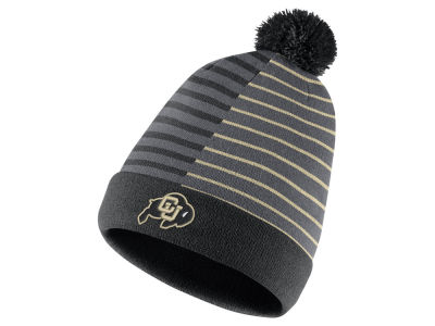 Colorado Buffaloes Nike NCAA Striped Beanie Knit