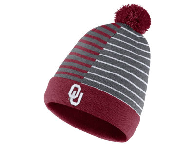 Oklahoma Sooners Nike NCAA Striped Beanie Knit