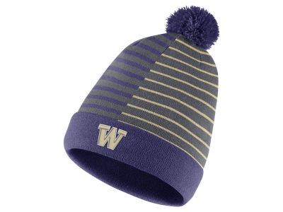 Washington Huskies Nike NCAA Striped Beanie Knit