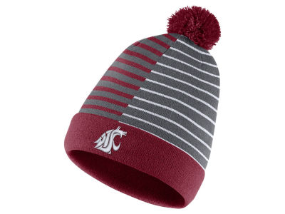 Washington State Cougars Nike NCAA Striped Beanie Knit