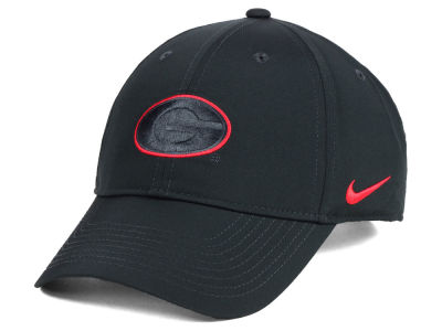 9979bdcb132 Georgia Bulldogs Nike NCAA Dri-Fit Adjustable Cap