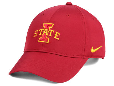 official photos 408a9 2401c ... clearance iowa state cyclones nike ncaa dri fit adjustable cap 66995  51d41