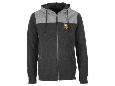 Minnesota Vikings Antigua NFL Men's Exertion Full Zip Hoodie