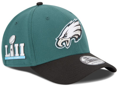 Philadelphia Eagles New Era NFL Super Bowl LII Patch Team Classic 39THIRTY Cap