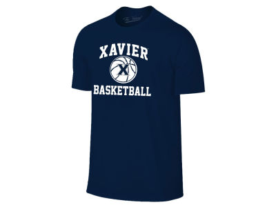 Xavier Musketeers NCAA Men's Arch & Logo Basketball T-Shirt