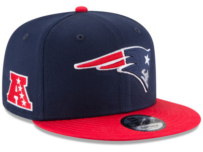 New England Patriots New Era NFL Super Bowl LII Baycik Patch 9FIFTY Snapback Cap