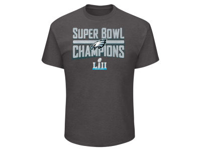 Philadelphia Eagles Majestic 2018 NFL Men's Super Bowl LII Champ Sudden Impact T-shirt