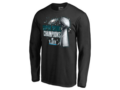 Philadelphia Eagles NFL Men's Super Bowl LII Champ Lombardi Parade Long Sleeve T-shirt